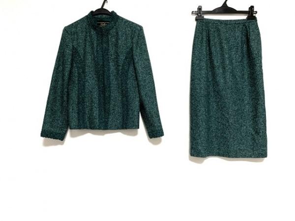Leilian(レリアン) スカートスーツ サイズ7 S レディース美品  グリーン