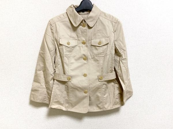 バーバリーロンドン ジャケット サイズ40 L レディース美品  ベージュ 春・秋物/薄手