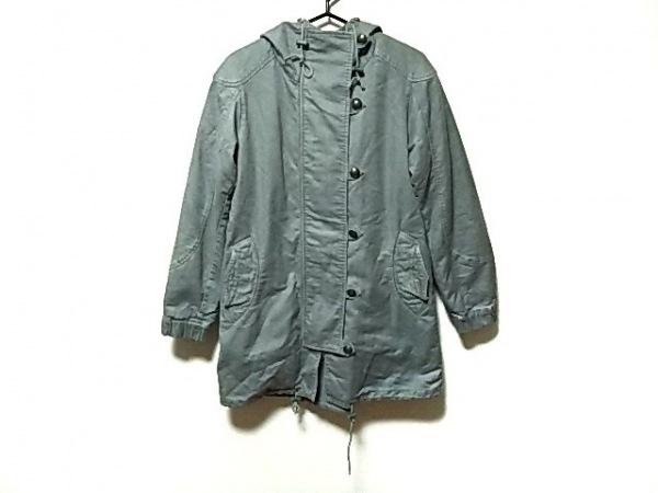 TSUMORI CHISATO(ツモリチサト) コート サイズ2 M レディース カーキ ジップアップ