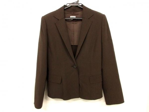 FOXEY(フォクシー) ジャケット サイズ40 M レディース ダークブラウン 肩パッド