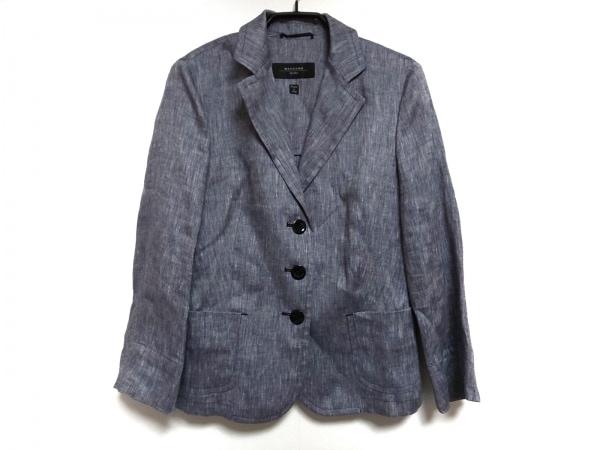 マックスマーラウィークエンド ジャケット サイズ40 M レディース 白×黒