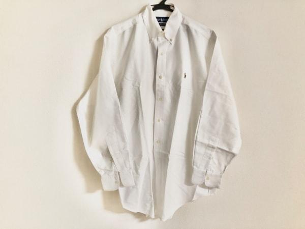 RalphLauren(ラルフローレン) 長袖シャツ サイズ15-32 メンズ 白