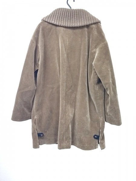 VAN(バン) コート サイズL メンズ美品  ブラウン×マルチ