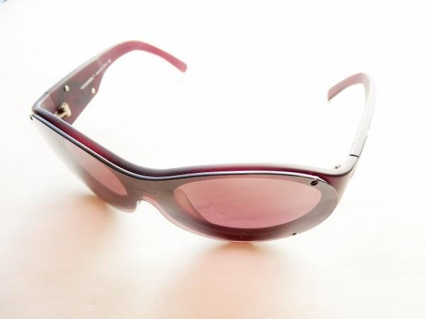 CHANEL(シャネル) サングラス 5073 ボルドー ココマーク プラスチック×金属素材
