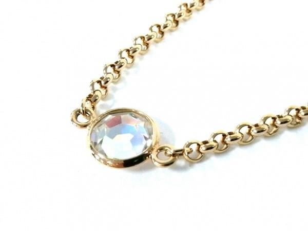 AGATHA(アガタ) ネックレス美品  金属素材××ラインストーン ゴールド×クリア