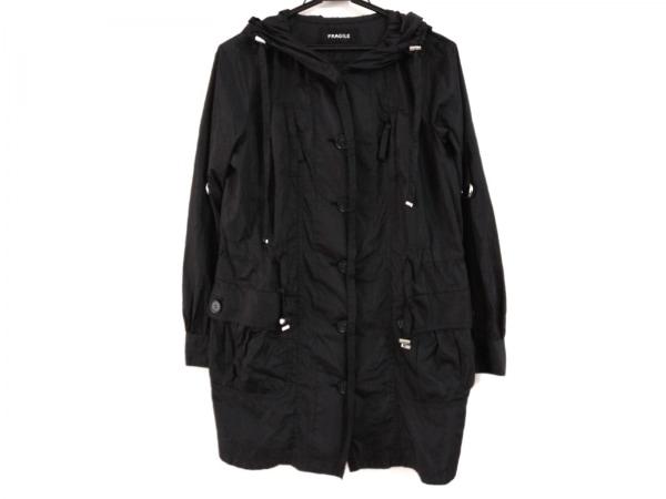 FRAGILE(フラジール) コート サイズ36 S レディース美品  黒 春・秋物