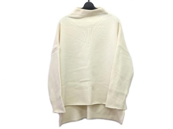 ENFOLD(エンフォルド) 長袖セーター サイズ38 M レディース アイボリー
