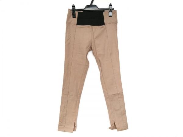 FRAY I.D(フレイアイディー) パンツ サイズ1 S レディース美品  ベージュ×黒