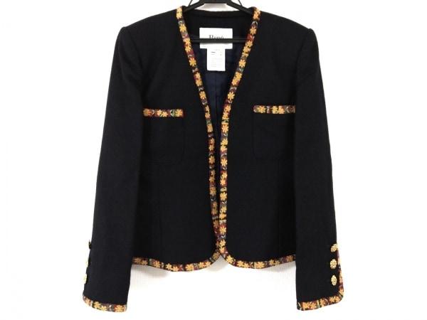 Rene(ルネ) ジャケット サイズ9 M レディース美品  黒×イエロー