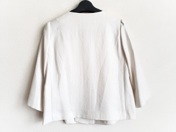 ローズティアラ ジャケット サイズ7 S レディース美品  アイボリー 2