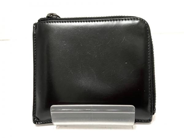 COMMEdesGARCONS(コムデギャルソン) 財布 黒 L字ファスナー レザー