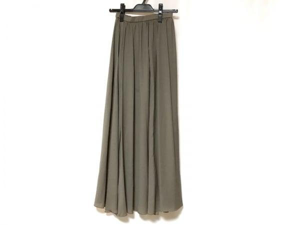 FRAY I.D(フレイアイディー) スカート サイズ0 XS レディース ダークグレー