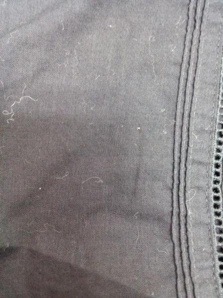INGEBORG(インゲボルグ) 長袖シャツブラウス レディース美品  黒 肩パッド/フリル