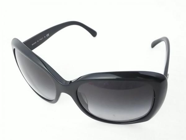 CHANEL(シャネル) サングラス 5183-A 黒×ダークブラウン ココマーク プラスチック