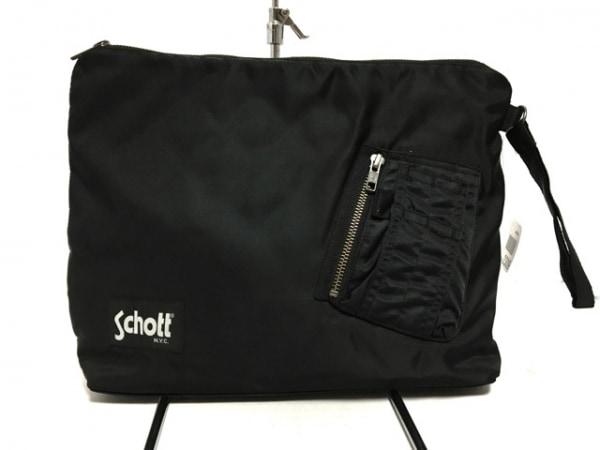 schott(ショット) セカンドバッグ美品  黒 JEANASIS ナイロン