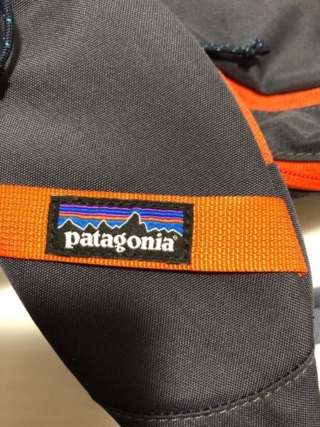 Patagonia(パタゴニア) ワンショルダーバッグ ダークグレー×オレンジ ナイロン