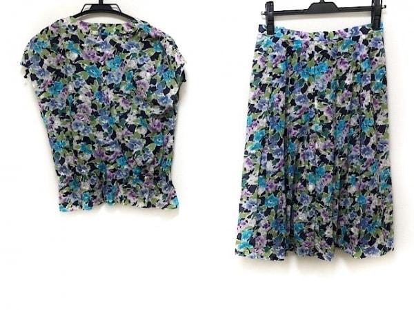 Leilian(レリアン) スカートセットアップ サイズ9 M レディース美品  花柄