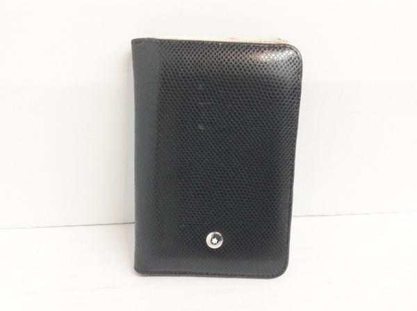 MONTBLANC(モンブラン) カードケース 黒 レザー