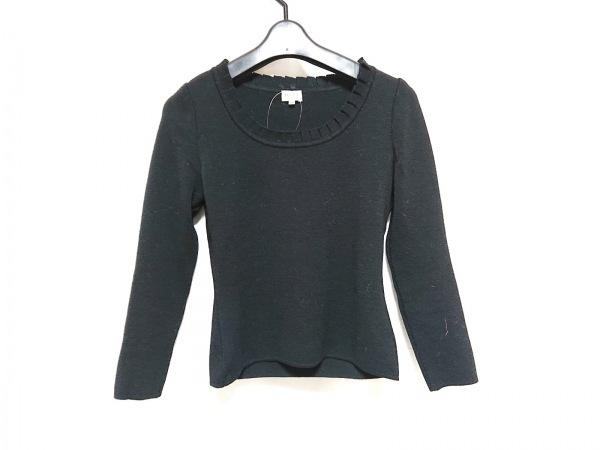 FOXEY(フォクシー) 長袖セーター サイズ38 M レディース 黒 フリル