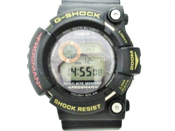 カシオ 腕時計美品  G-SHOCK FROGMAN GW-200TC メンズ Triple Crown/ラバーベルト 黒