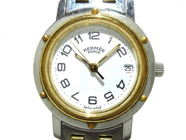 HERMES(エルメス) 腕時計 クリッパー - レディース 白