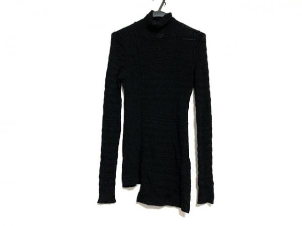 ソニアリキエル 長袖セーター サイズ40 M レディース美品  黒 タートルネック