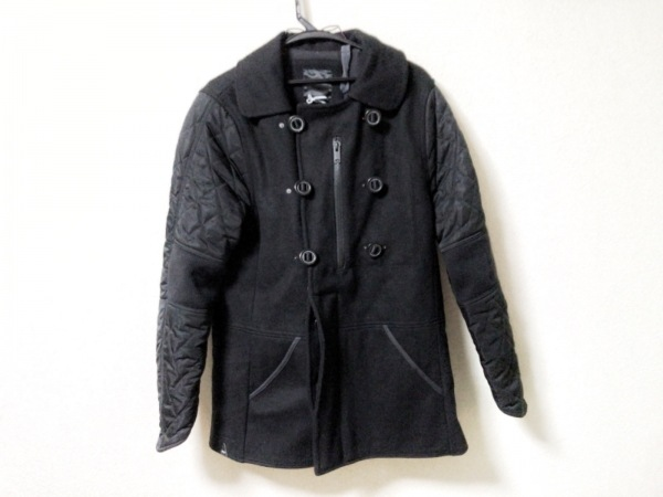 DENHAM(デンハム) コート メンズ 黒 キルティング/冬物