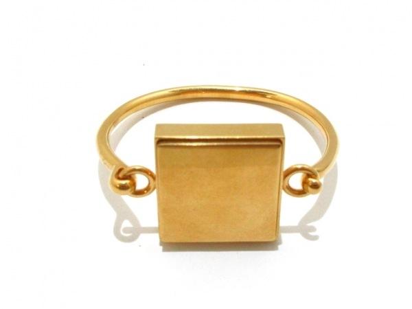 CELINE(セリーヌ) バングル M 金属素材 ゴールド サイズ:M