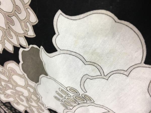 LEONARD(レオナール) チュニック サイズ42 L レディース 黒×ベージュ×マルチ 花柄