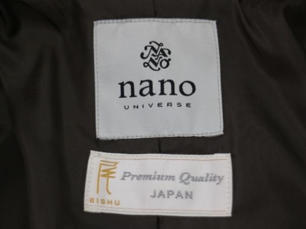 nano universe(ナノユニバース) ダッフルコート サイズ36 S レディース カーキ