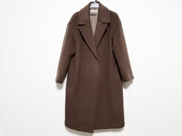ジャーナルスタンダード コート サイズ36 S レディース ブラウン 冬物