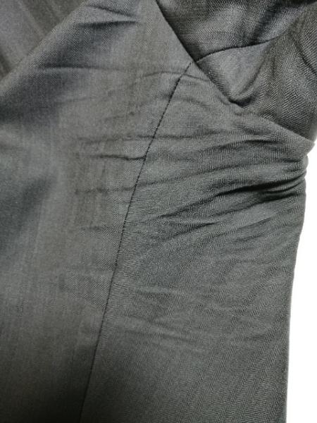 EDIFICE(エディフィス) シングルスーツ サイズ44 L メンズ 黒 ストライプ