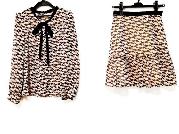 リッチミーニューヨーク スカートセットアップ サイズ1 S レディース 猫柄/シースルー