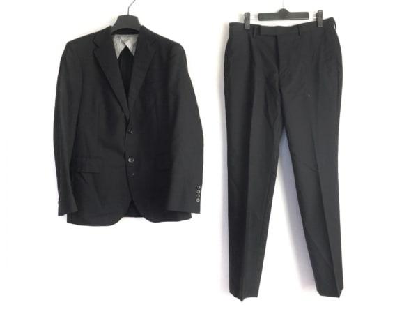 ビューティアンドユース ユナイテッドアローズ シングルスーツ サイズ46 XL メンズ 黒