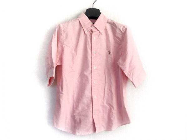 RalphLauren(ラルフローレン) 半袖シャツブラウス レディース ピンク 刺繍