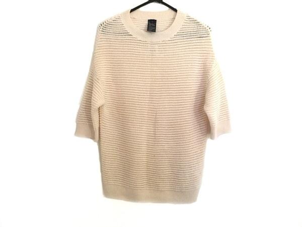 SOV.(ソブ ダブルスタンダード) 半袖セーター サイズF レディース アイボリー