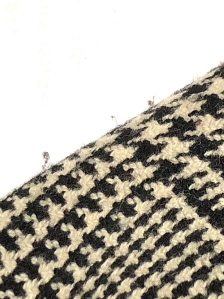 ラルフローレン 巻きスカート サイズ9 M レディース アイボリー×黒 千鳥格子
