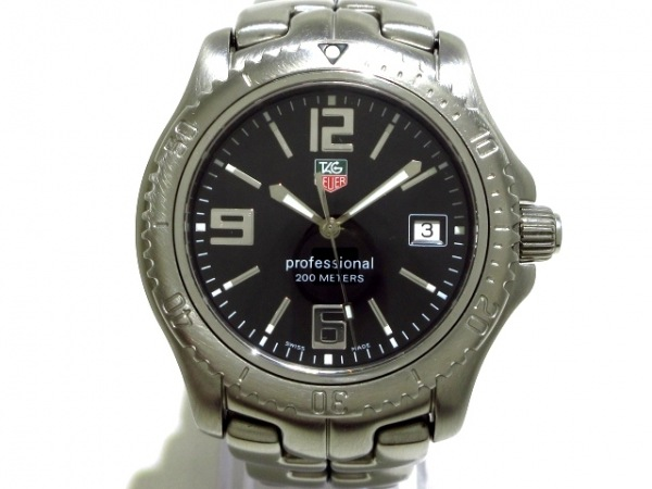 TAG Heuer(タグホイヤー) 腕時計美品  リンク WT1110 メンズ 黒