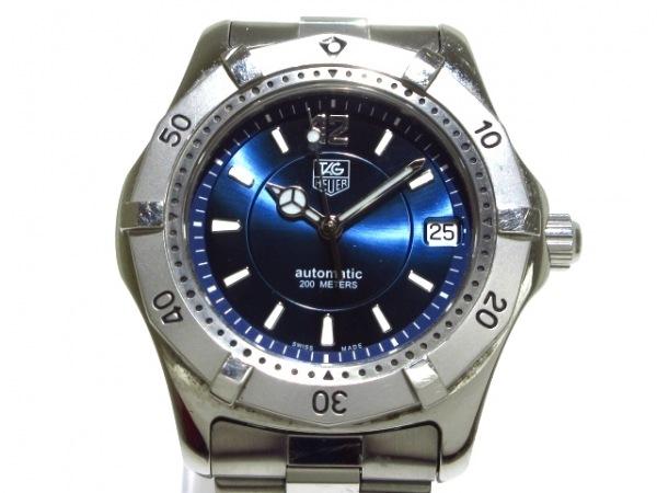 TAG Heuer(タグホイヤー) 腕時計 2000シリーズ WK2117-1 メンズ ネイビー