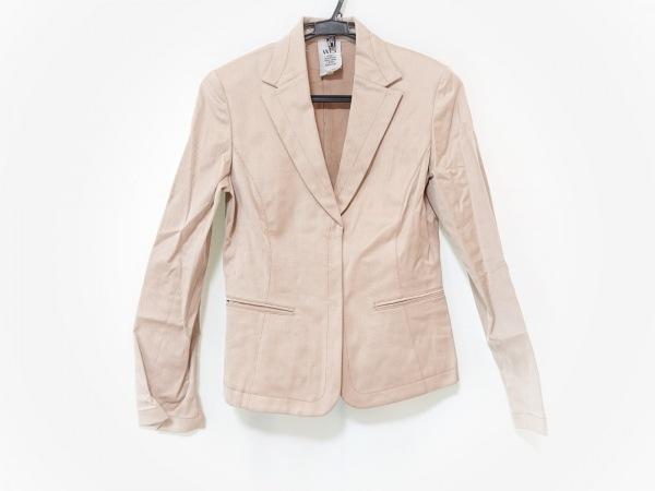 wb(ダブリュービー) ジャケット サイズ3 L レディース ベージュ