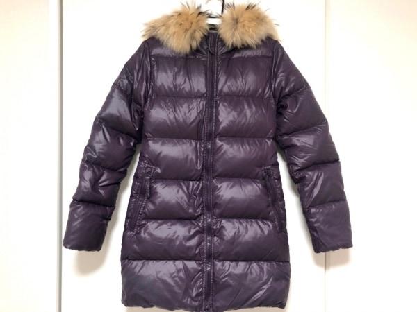 デュベティカ ダウンコート サイズ38 S レディース美品  Kappa パープル 冬物/ファー