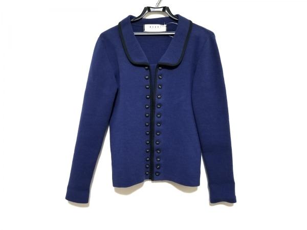 マルニ ジャケット サイズ40 M レディース美品  ブルー×黒 SUMMER EDITION 2012
