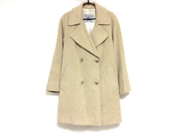 Burberry's(バーバリーズ) コート サイズ9 M レディース アイボリー 冬物