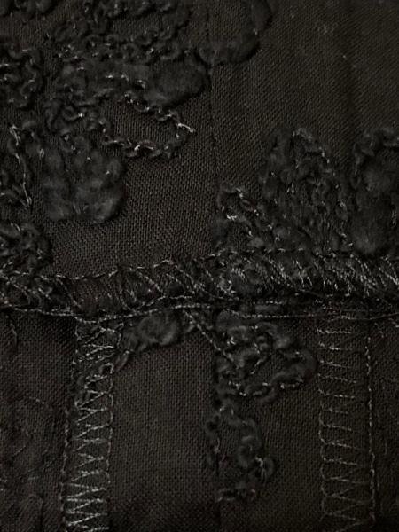 M'S GRACY(エムズグレイシー) ワンピース サイズ38 M レディース美品  黒 花柄/刺繍