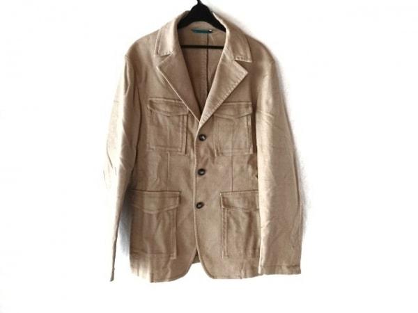 monsieur NICOLE(ムッシュニコル) ジャケット サイズ48 XL メンズ ベージュ