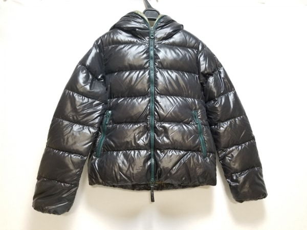 デュベティカ ダウンジャケット サイズ40 M レディース美品  Thia 黒 長袖/冬