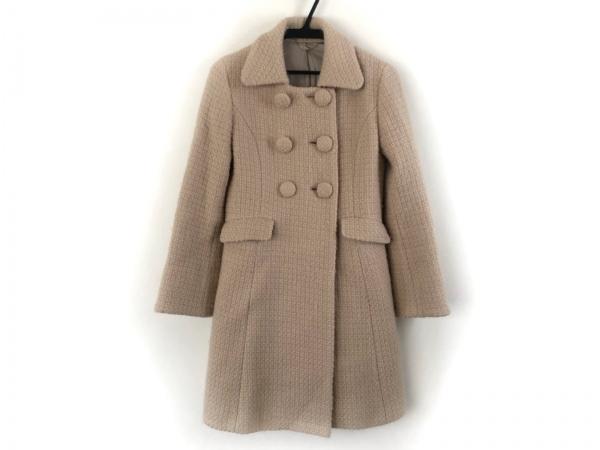 ef-de(エフデ) コート サイズ7 S レディース美品  ベージュ 冬物