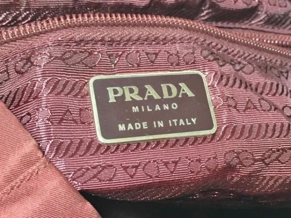 PRADA(プラダ) リュックサック - B2811 ボルドー ナイロン×レザー
