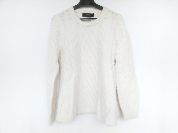 SACRA(サクラ) 長袖セーター サイズ38 M レディース アイボリー