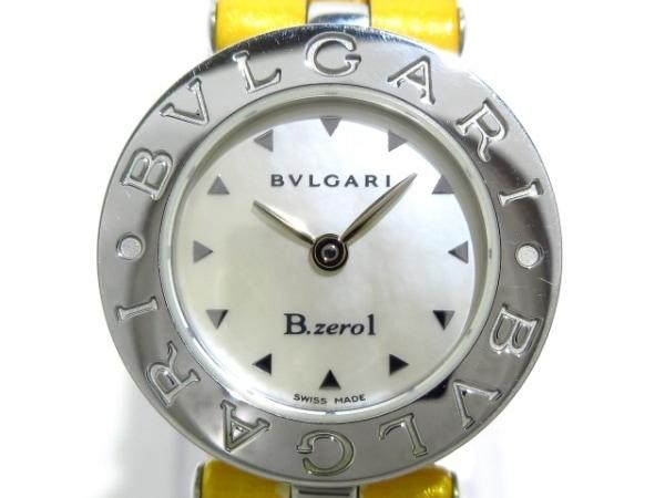 BVLGARI(ブルガリ) 腕時計美品  BZ22S レディース シェル文字盤 シルバー